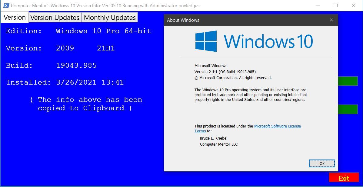Windows21H1
