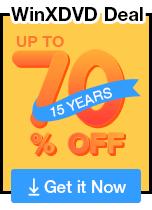 WinXDVD 15th Anniversary Deals