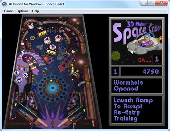 3D Pinball for Windows - Space Cadet