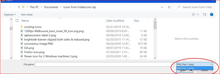 folder-of-icons