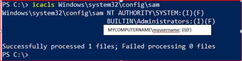 non-Admin-PS-Command