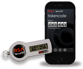 RSA key fob and smartphone app