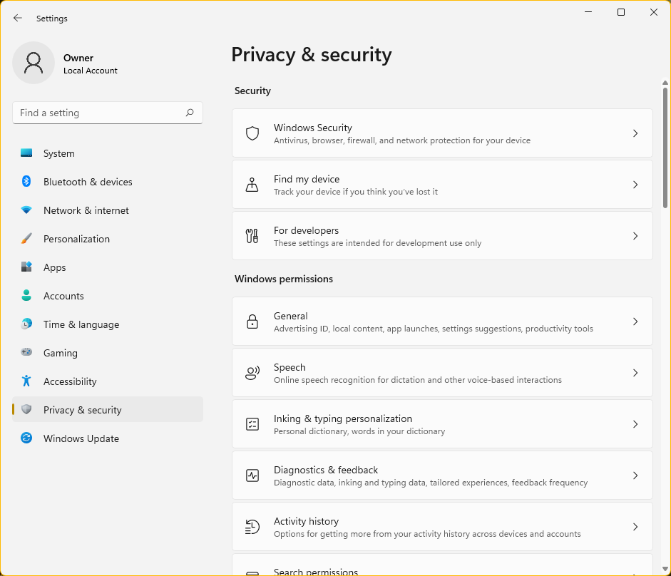 Privacy-security